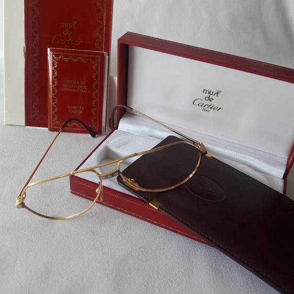 8ea7e28cfc42 Cartier Accessories - Cartier Aviator Frame